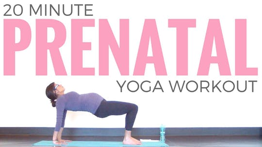 Instant Access to Prenatal Yoga Workout by Sarah Beth Yoga, powered by Intelivideo