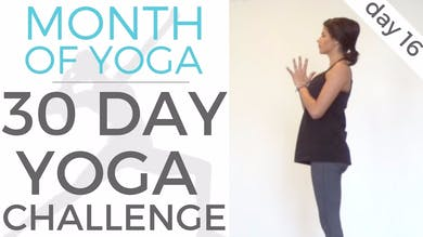 Day 16 - Flow // #MonthOfYoga - 30 Day Yoga Challenge by Sarah Beth Yoga
