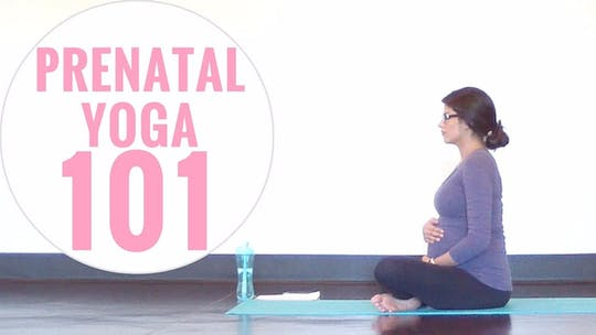Instant Access to Prenatal Yoga 101 (Dos & Don'ts, Modifications) by Sarah Beth Yoga, powered by Intelivideo