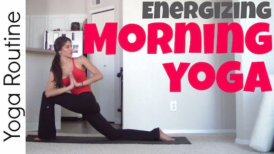 Instant Access to Energizing Morning Yoga Routine by Sarah Beth Yoga, powered by Intelivideo