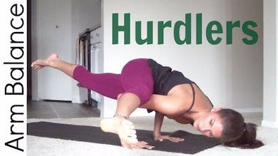 How to Hurdlers Pose - Arm Balance by Sarah Beth Yoga