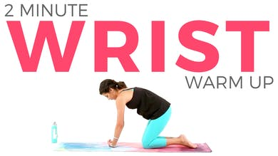 2 minute Wrist Warm Up by Sarah Beth Yoga