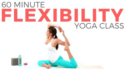 Instant Access to 60 minute Yoga for Flexibility Class by Sarah Beth Yoga, powered by Intelivideo