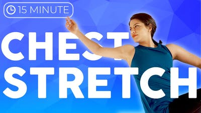 Instant Access to 15 minute Bedtime Yoga Stretch | Chest & Back by Sarah Beth Yoga, powered by Intelivideo