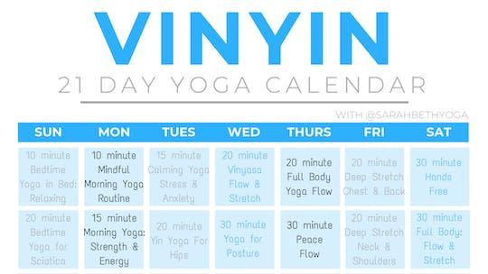 21 Day VinYin   Sarah Beth Yoga