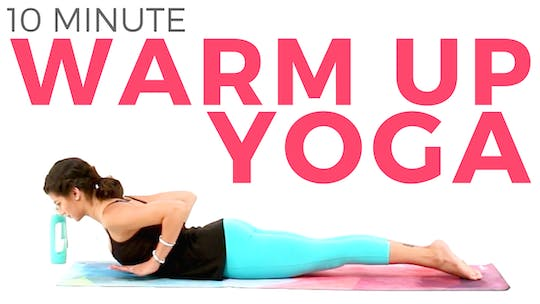 Instant Access to 10 minute Yoga Warm Up by Sarah Beth Yoga, powered by Intelivideo