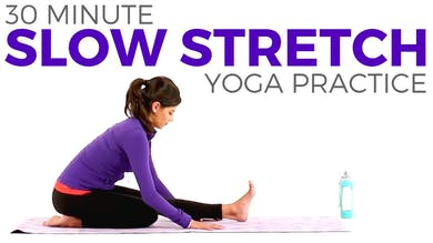 30 minute Slow Stretch Practice by Sarah Beth Yoga