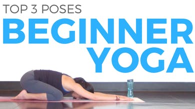 3 Yoga Poses for Beginners by Sarah Beth Yoga