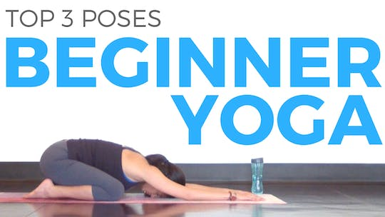 Instant Access to 3 Yoga Poses for Beginners by Sarah Beth Yoga, powered by Intelivideo