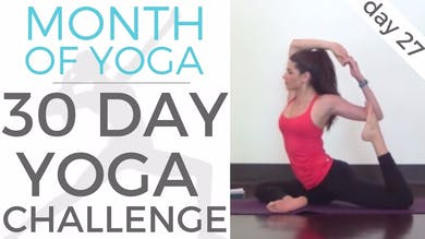 Day 27 - Patience // #MonthOfYoga - 30 Day Yoga Challenge by Sarah Beth Yoga