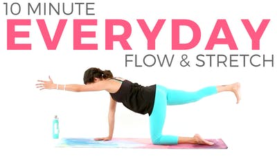 Instant Access to 10 minute Everyday Flow & Stretch by Sarah Beth Yoga, powered by Intelivideo