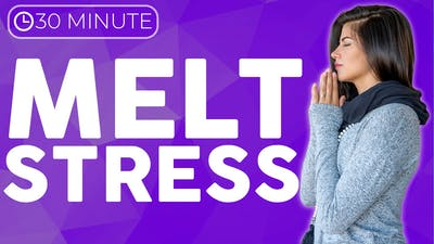 Stress Relief Yoga (30 minute) MELT away stress, anxiety, tension & troubles by Sarah Beth Yoga