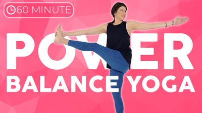 60 minute Intermediate Power Yoga Class | BALANCE by Sarah Beth Yoga