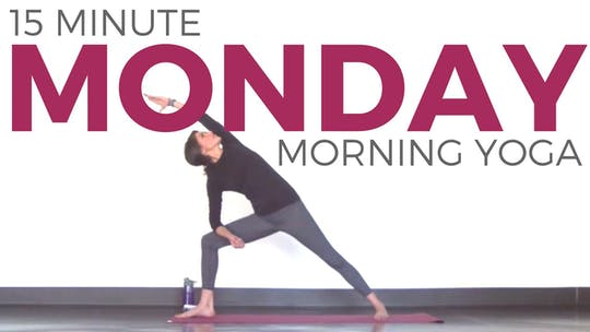 Instant Access to Monday - Morning Vinyasa Yoga Routine by Sarah Beth Yoga, powered by Intelivideo