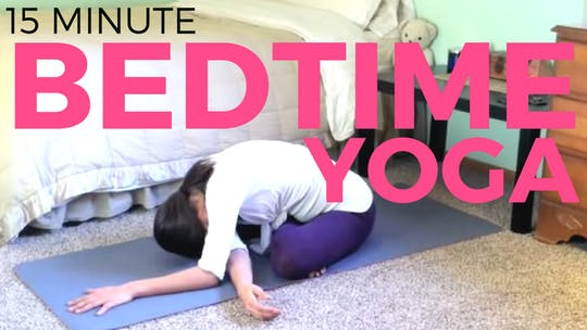 Instant Access to Bedtime Yoga Practice (My oldest video!) by Sarah Beth Yoga, powered by Intelivideo