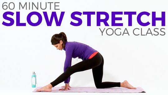 Instant Access to 60 minute Slow Stretch Class by Sarah Beth Yoga, powered by Intelivideo