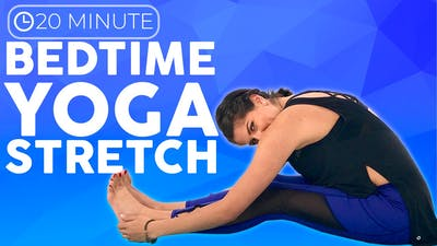 Instant Access to 20 minute Bedtime Yoga | Full Body Yoga Stretches for Relaxation by Sarah Beth Yoga, powered by Intelivideo