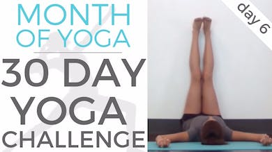 Day 6 - Self Care // #MonthOfYoga - 30 Day Yoga Challenge by Sarah Beth Yoga