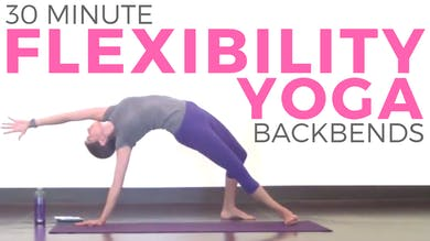Yoga for Flexibility & Strength | Back Bending Power Yoga (30 minutes) by Sarah Beth Yoga