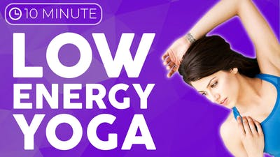 Instant Access to 10 minute Low Energy Restorative Yoga by Sarah Beth Yoga, powered by Intelivideo