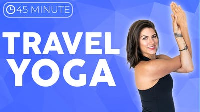 45 minute Post Travel Yoga Class by Sarah Beth Yoga
