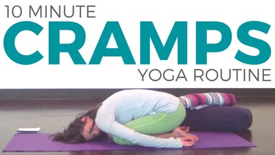 Instant Access to Yoga for Menstrual Cramps by Sarah Beth Yoga, powered by Intelivideo