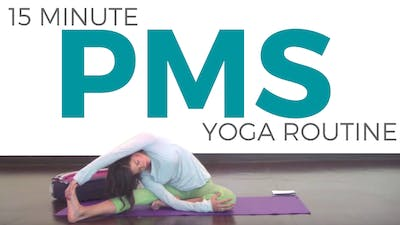 Instant Access to Yoga for PMS by Sarah Beth Yoga, powered by Intelivideo