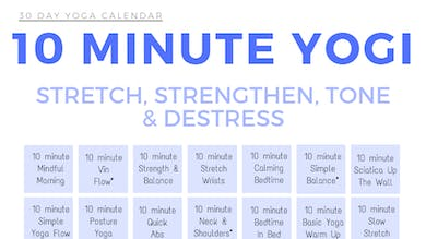 10 minute Yogi by Sarah Beth Yoga