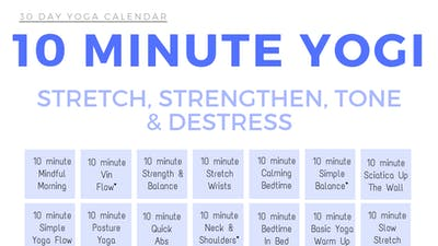 Instant Access to 10 minute Yogi by Sarah Beth Yoga, powered by Intelivideo