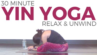 Instant Access to Yin Yoga to Relax & Unwind by Sarah Beth Yoga, powered by Intelivideo