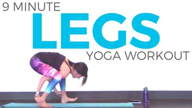 Power Yoga Workout for Legs by Sarah Beth Yoga