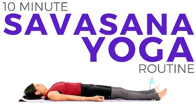 10 minute Yoga for Relaxation | With Extended Savasana by Sarah Beth Yoga