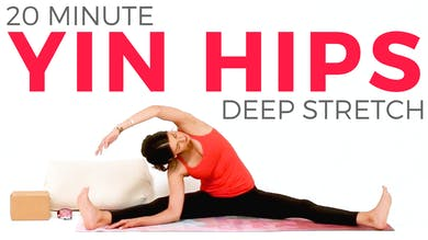 20 minute Yin Yoga for Hips by Sarah Beth Yoga