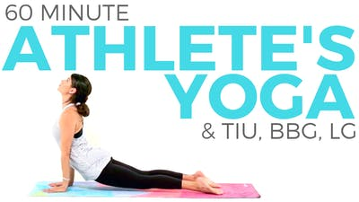 Instant Access to 60 minute Yoga for Athletes Class by Sarah Beth Yoga, powered by Intelivideo