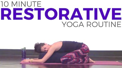 Yoga for Relaxation - with a Bolster by Sarah Beth Yoga