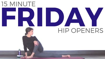 Instant Access to Friday - Feel Good Hip Opening by Sarah Beth Yoga, powered by Intelivideo