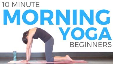 10 minute Morning Yoga for Beginners by Sarah Beth Yoga