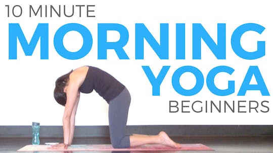 Instant Access to 10 minute Morning Yoga for Beginners by Sarah Beth Yoga, powered by Intelivideo