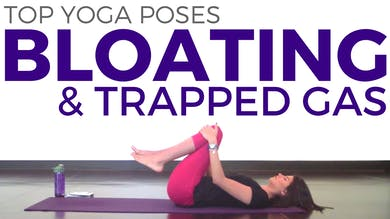 3 Yoga Poses for Digestion & Bloating by Sarah Beth Yoga
