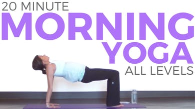 20 Minute Mindful Morning Yoga Practice by Sarah Beth Yoga
