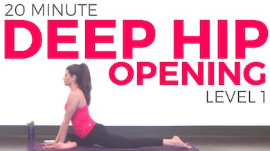 Deep Hip Opening Yoga Level 1 by Sarah Beth Yoga