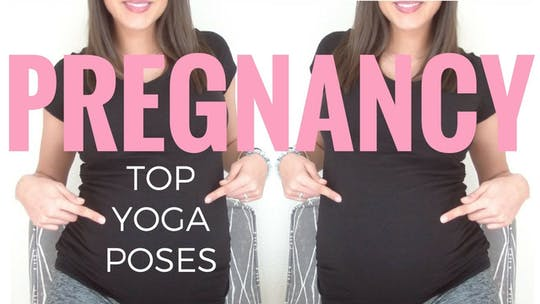 Instant Access to 3 Poses for Pregnancy - Prenatal Yoga by Sarah Beth Yoga, powered by Intelivideo