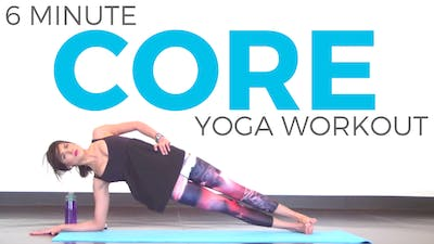 Instant Access to Power Yoga Workout for Core Strength by Sarah Beth Yoga, powered by Intelivideo