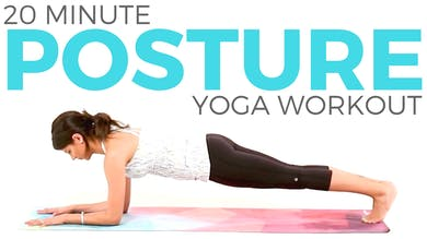 20 minute Power Yoga Workout - Posture Yoga Routine by Sarah Beth Yoga