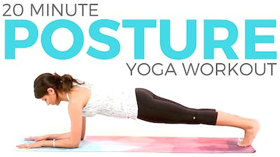 Instant Access to 20 minute Power Yoga Workout - Posture Yoga Routine by Sarah Beth Yoga, powered by Intelivideo