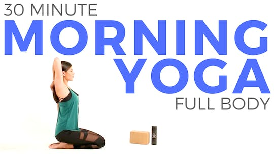 Instant Access to 30 minute Morning Yoga Stretch | Total Body Yoga Stretch by Sarah Beth Yoga, powered by Intelivideo