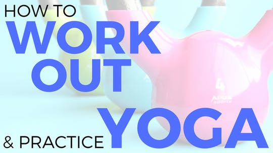 Instant Access to Tips for Working Out & Yoga by Sarah Beth Yoga, powered by Intelivideo