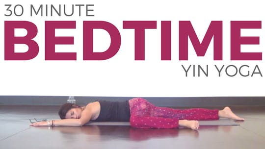 Instant Access to Yin Yoga for Bedtime by Sarah Beth Yoga, powered by Intelivideo
