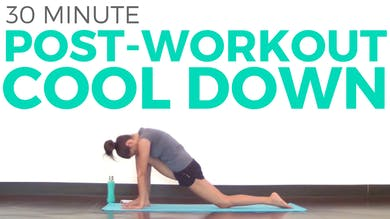 30 minute Post Workout Cool Down by Sarah Beth Yoga