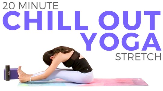 Instant Access to 20 minute Chill Out Yoga for Relaxation by Sarah Beth Yoga, powered by Intelivideo